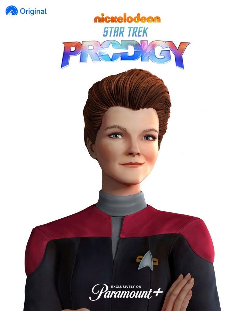 Prodigy Janeway Reveal